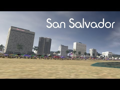 Cities: Skylines - San Salvador - a caribbean city EP1