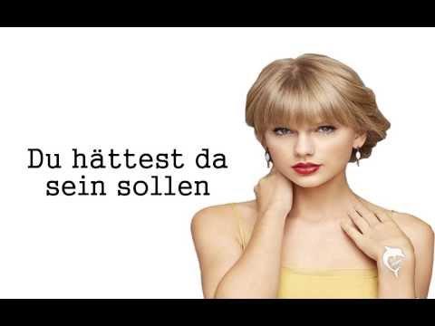 Taylor Swift The Moment I Knew - Deutsche Übersetzung