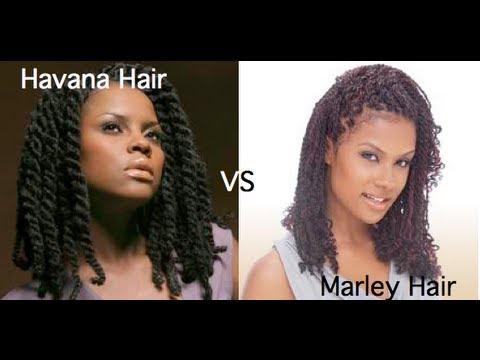90 Marley Hair Vs Havana Hair Youtube