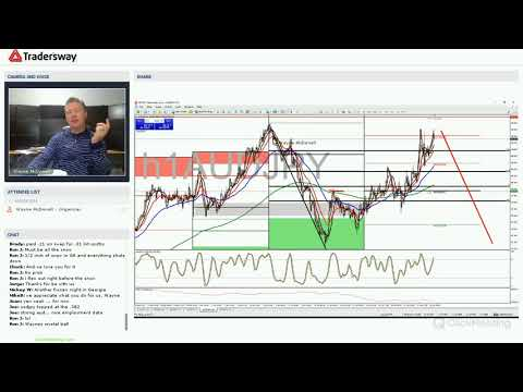 Forex Trading Strategy Webinar Video For Today: (LIVE: Thursday, January 18, 2017)