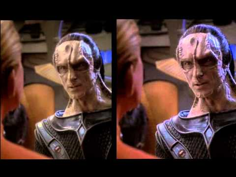 Star Trek DS9 Remastered  side by side comparative