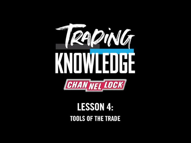 Trading Knowledge Lesson #4: Tools of the Trade