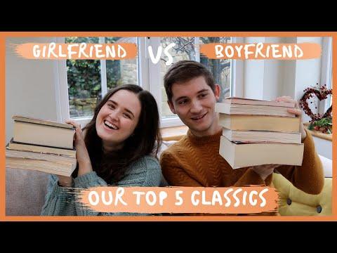 BOYFRIEND VS GIRLFRIEND – TOP 5 CLASSICS // our favourite books
