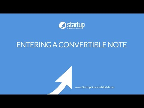 startup-financial-model---how-a-convertible-seed-note-works