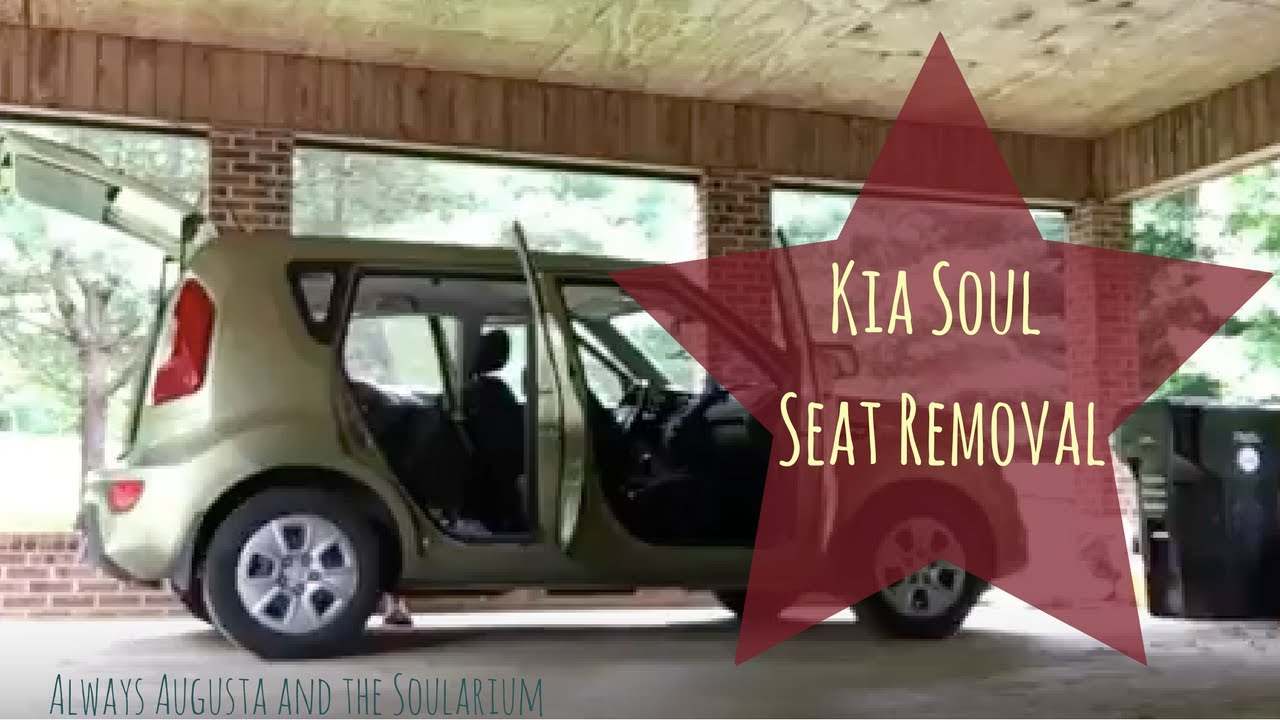 Kia Soul: Rear Seat Back Cover Replacement