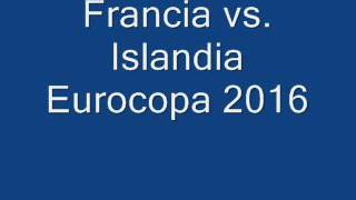 Francia vs. Islandia Eurocopa 2016 / gana euros https://youtu.be/wFYMbJ2V4oU