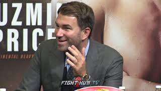 EDDIE HEARN RAGS ON TYSON FURY!