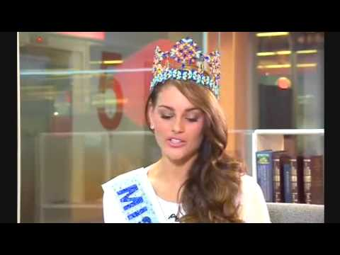 BBC News   Miss World 2014  How my African heritage helped me win