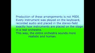 Gesu Bambino - Pietro Yon - Symphonic Instrumental Opera karaoke for soprano voice