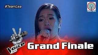 The Voice Teens Philippines Grand Finale: Mica Becerro - Time To Say Goodbye