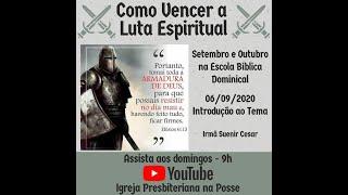 Escola Bíblica Dominical - 27.09.2020