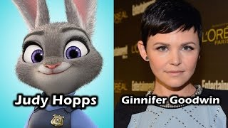Characters and Voice Actors - Zootopia