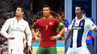 CRISTIANO RONALDO IN EVERY FIFA (04-21)
