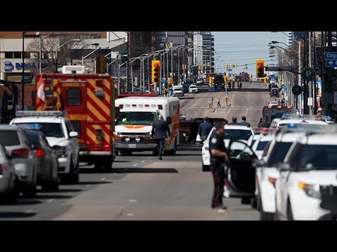 Toronto van attack: Driver arrested after pedestrians struck in Toronto