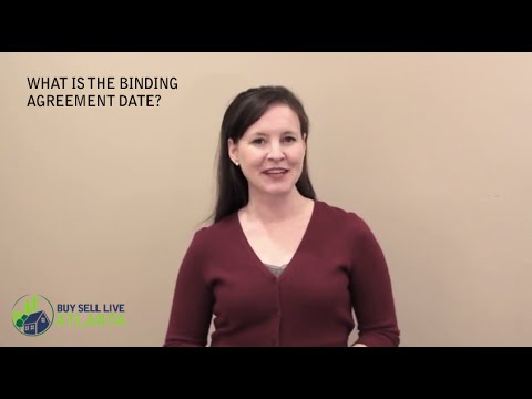 What is the Binding Agreement Date? | Maura Neill, REALTOR