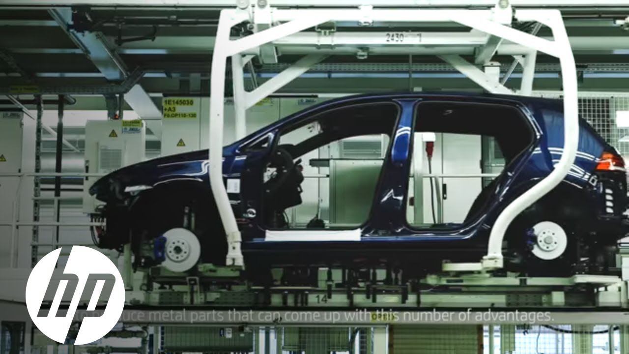 HP Metal Jet Technology Fuels Volkswagen's Automotive Vision | 3D Printing | HP