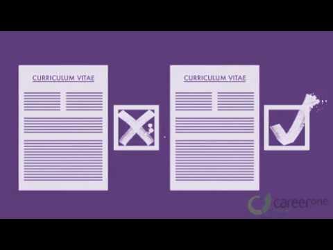 careerone au s guide to writing a resume