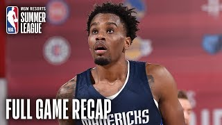 MAVERICKS vs NETS | Antonius Cleveland Leads Dallas | MGM Resorts NBA Summer League