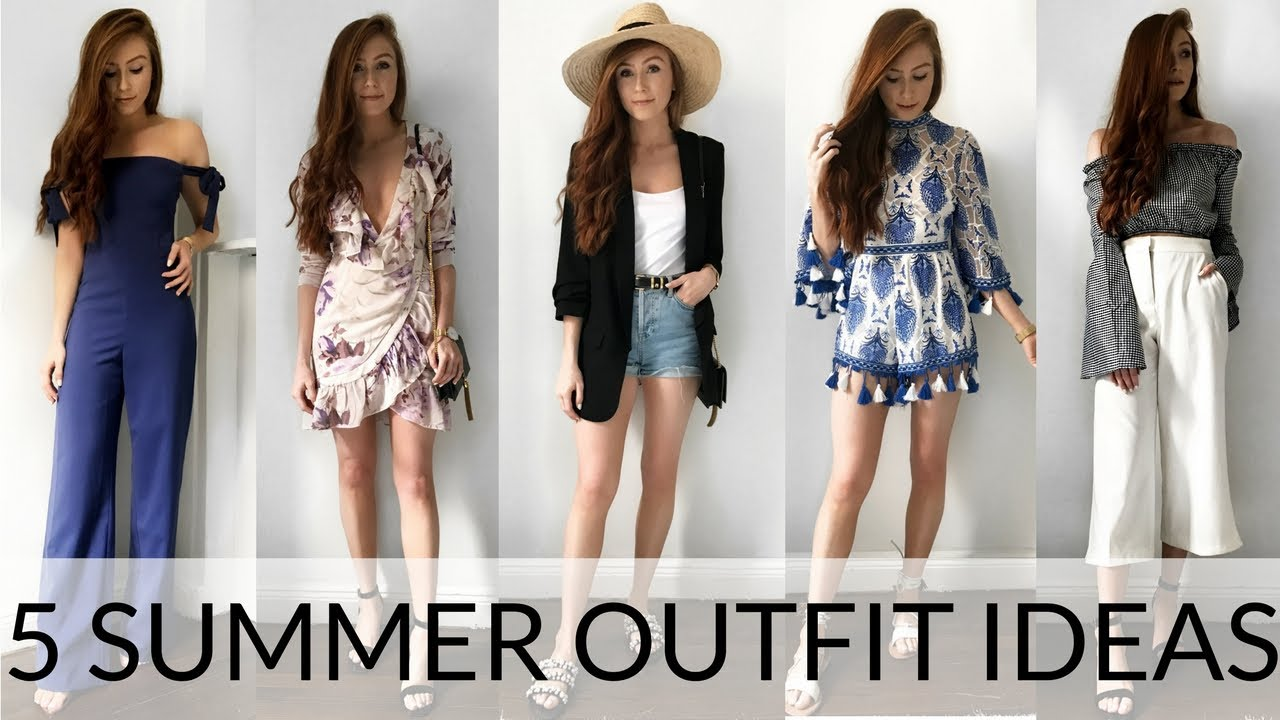 EASY SUMMER OUTFIT IDEAS - SUMMER TRY-ON HAUL - Retro Flame  sc 1 st  YouTube & EASY SUMMER OUTFIT IDEAS - SUMMER TRY-ON HAUL - Retro Flame - YouTube