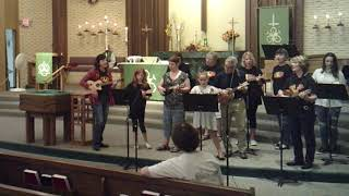 Faith Lutheran Church Ukulele Ensemble - September 22, 2019