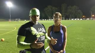 Jar of Hope push up challenge at CTR Soccer's team camp for Marlboro Soccer Association, 8/17/17.