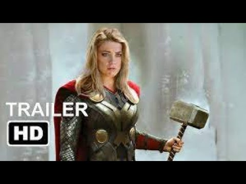 Thor 4  The Love and Thunder  Teaser Trailer  2022 Chirs Hemsworth, Christian Bale 'Marvel Concept