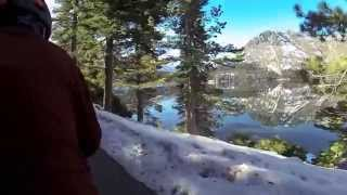 Bike Friday Tandem mountain bike Messiah trail reno nevada snow rocky extreme downhill hill steep