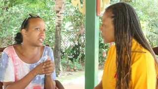 DR WALLS TALKING TO VINCENT McDOOM IN ST. LUCIA  MVI0554