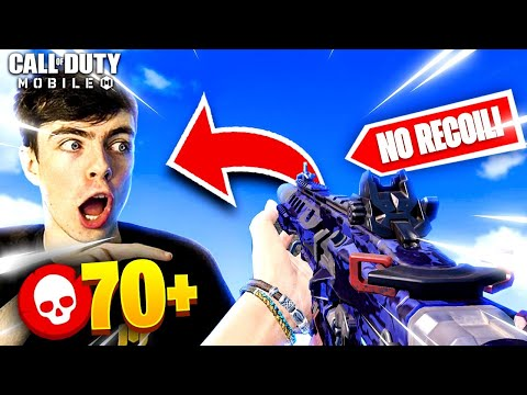 iFergs ICR Gunsmith SETUP has NO RECOIL! 70+ Kills | Cod Mobile