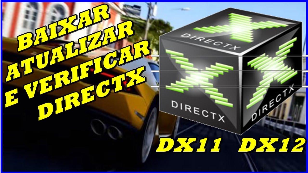 atualizar direct x