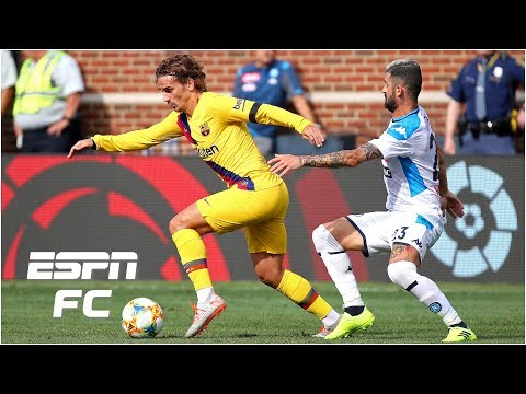 Antoine Griezmann nets first goal for Barcelona in Napoli rout | ESPN FC