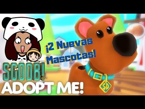 El Misterio Del Collar De Scooby / !DOS NUEVAS MASCOTAS! | Roblox Adopt Me #02 | Yui Panda
