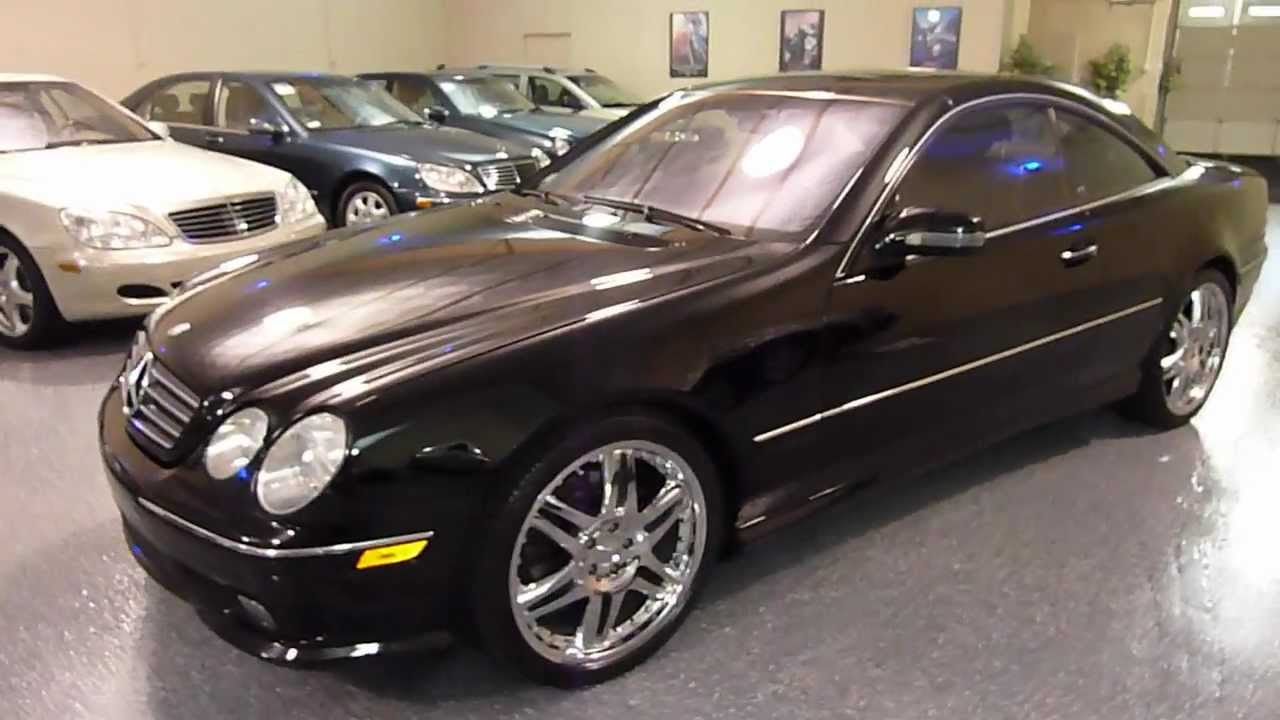 2002 mercedes benz cl500 2dr coupe 5 0l sold 2177 youtube. Black Bedroom Furniture Sets. Home Design Ideas
