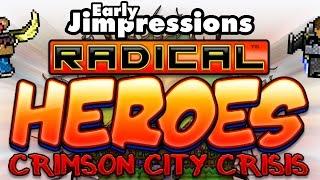 RADICAL HEROES: CRIMSON CITY CRISIS - Sgt. Knucklenuts