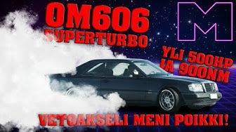 KOEAJOSSA: MERCEDES-BENZ SUPERTURBO OM606 HOLSET HX52