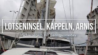 Lotseninsel, Kappeln, Arnis; Schleisegeln mit Sailingsomeday und der Sirius 310 DS