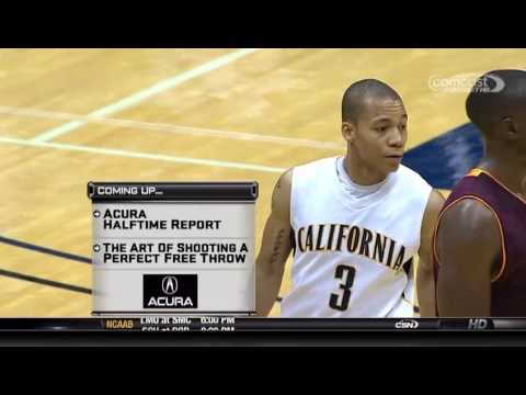 Cal Clinches Pac-10 Title - 2010 ASU vs. Cal Golden Bears Men