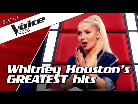 TOP 10 | BEAUTIFUL Whitney Houston COVERS in The Voice Kids