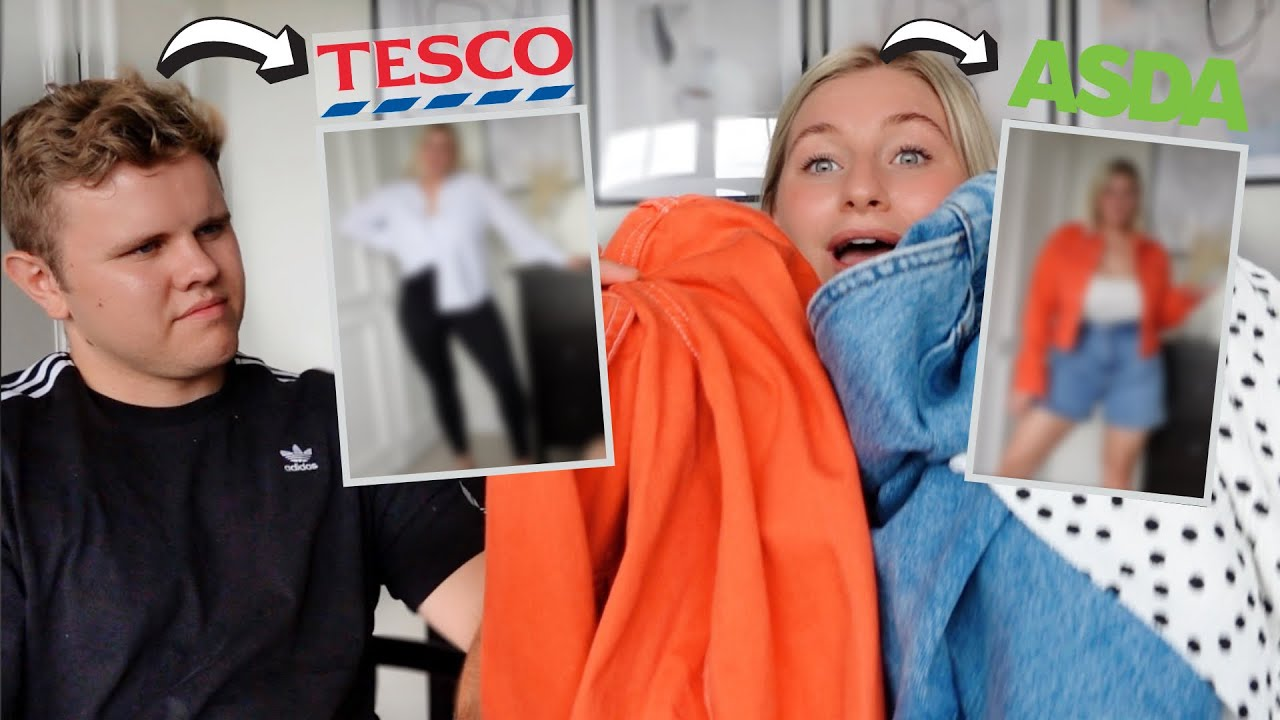 Download SUPERMARKET OUTFIT CHALLENGE HUSBAND VS WIFE   James and Carys