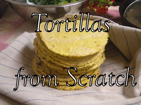 How to turn Corn into Tortillas, Basic Recipe and Process