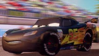 CARS 2 - The Videogame - Carbon Fiber Lightning McQueen Gameplay