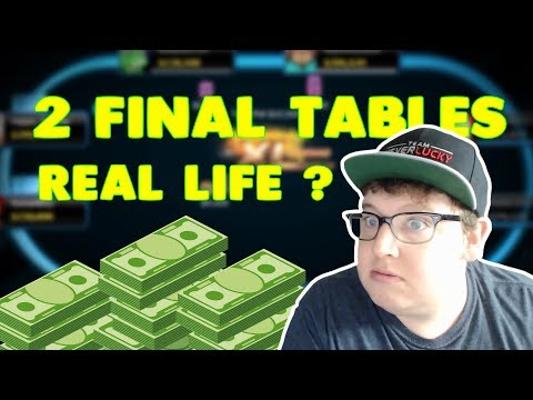 Winning TWO Final Tables in One Session?!