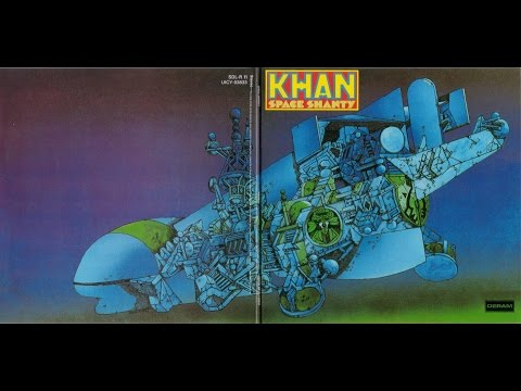 KHAN - STEVE HILLAGE .  TRACK : DRIVING TO AMSTERDAM . 1972