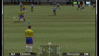 World Soccer Winning Eleven 7 - International on PCSX2 0.9.7 - Playstation 2 Emulator