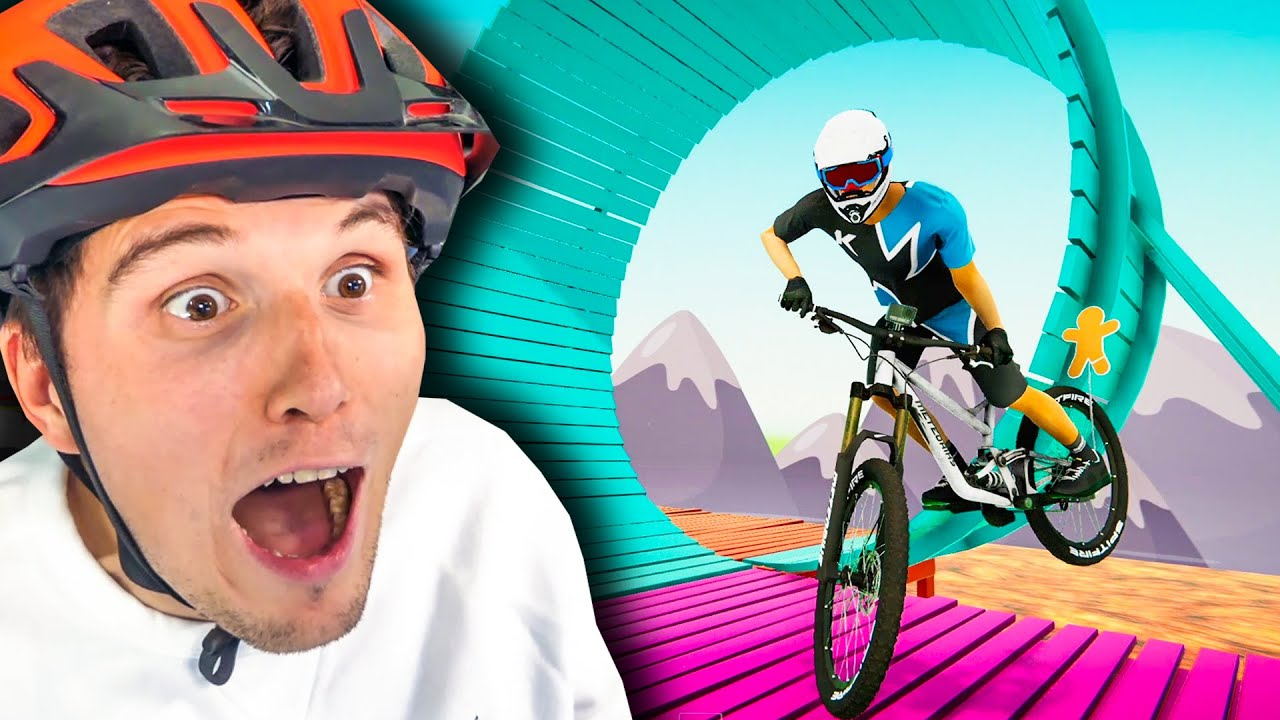 Der FAHRRAD Simulator CARTOON Looping!
