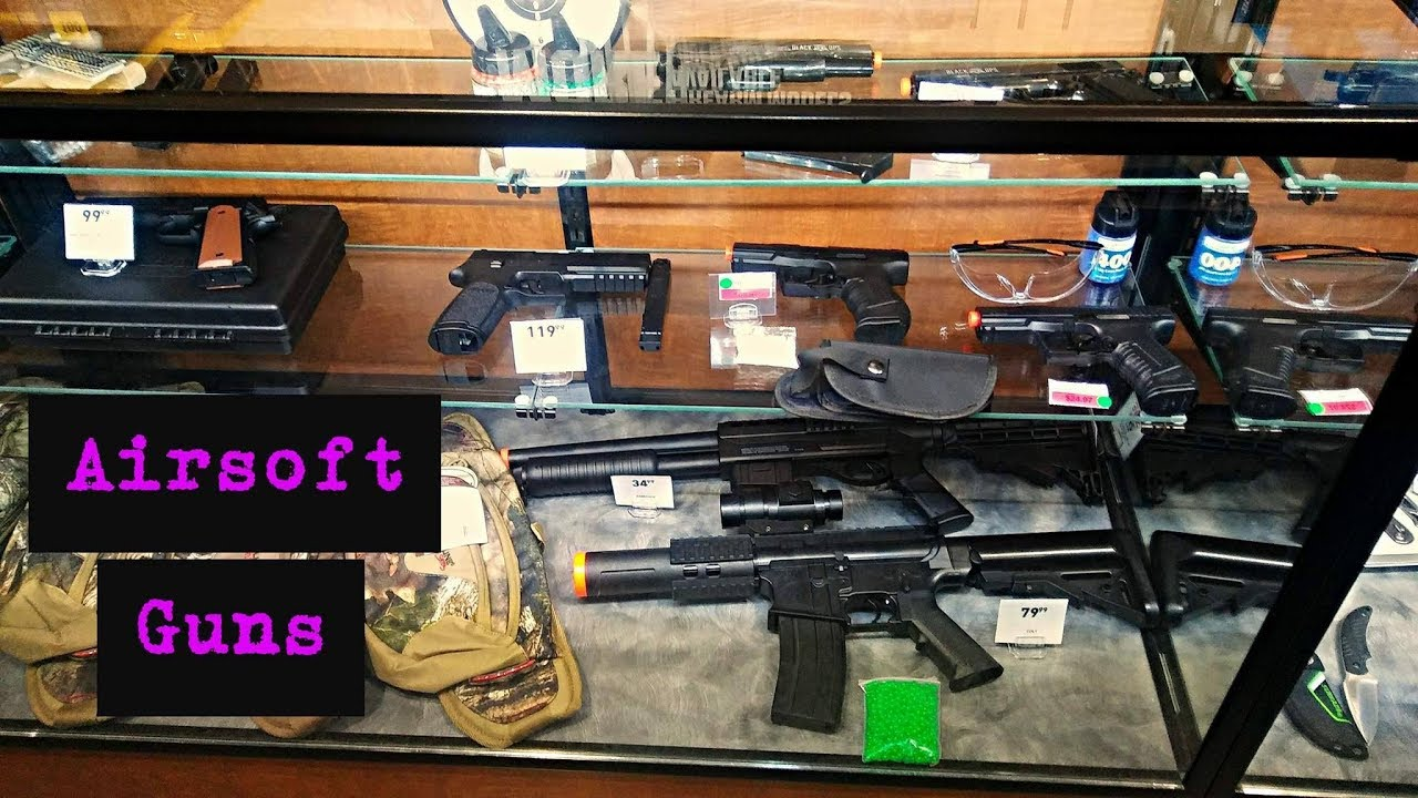 Guns available at dicks sporting goods