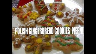 Polish Christmas  Gingerbread  Cookies Pierniki Episode #52