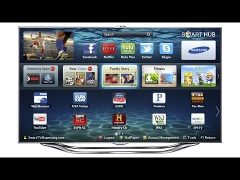 Cторонние виджеты для Samsung Smart TV