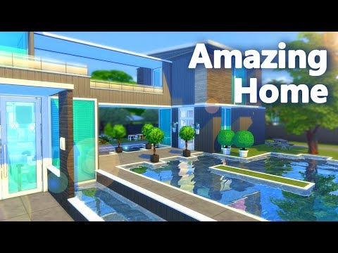 THE SIMS 4 AMAZING FIRST HOME - Build
