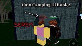 Ketemu Monster Hitam // Roblox Camping // Horror Game